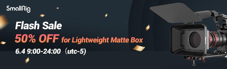 765x234 - 50% Off SmallRig Lightweight Matte Box