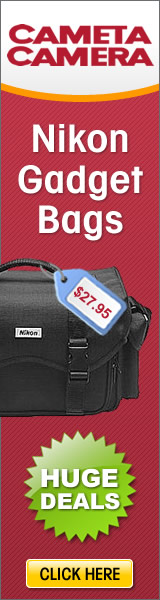 Nikon Gadget Bag only $27.95