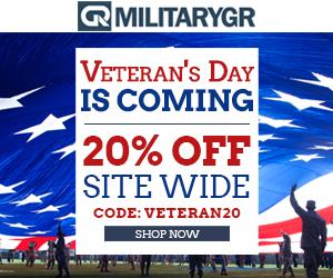 Veteran's Day Sale. 20% OFF Site Wide