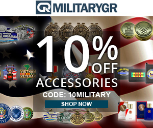 Military Accessories Sale. Use Code: 10MILITARY at Checkout and Get 10% OFF For All Military Accessories