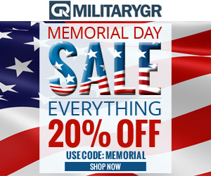 Memorial Day Sale. 20% OFF Site Wide
