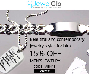 15% OFF For all Mens Jewelry