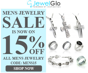 15% OFF All Mens Jewelry SALE