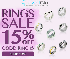 Rings Sale. 15% OFF For All Rings