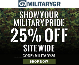 Site Wide Sale - Use Code: MILITARY25 and Get 25% OFF Site Wide