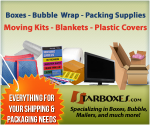 Moving Supplies For Packing and Shipping