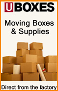 moving boxes and moving supplies