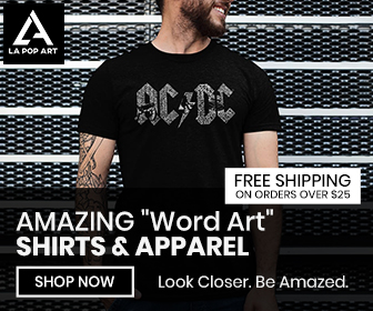 Amazing Word Art Shirts and Apparel