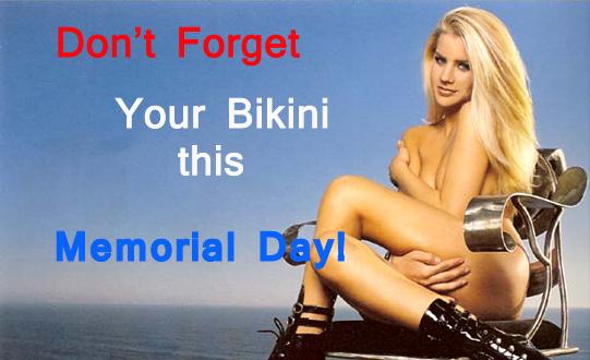 Memorial Day Bikinis