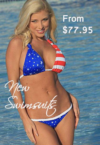 american flag bikinis