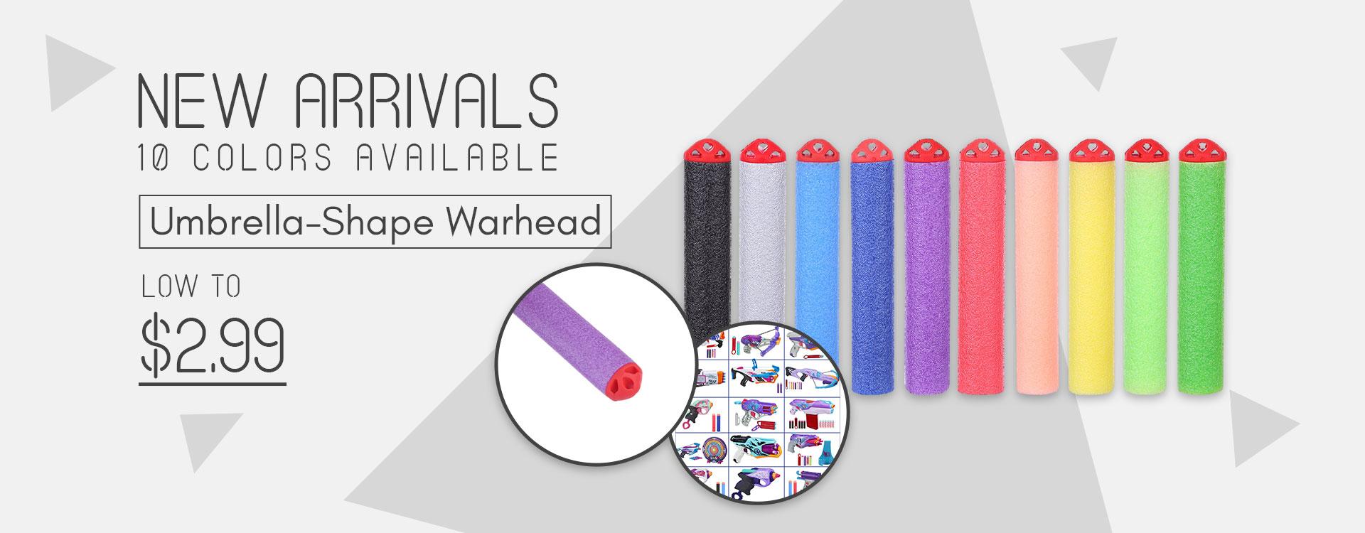 New Arrivals Umberella Shape Warhead