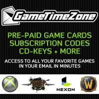 Buy game codes from Game Time Zone!