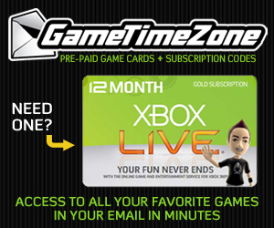 Get xbox memberships from Game Time Zone!