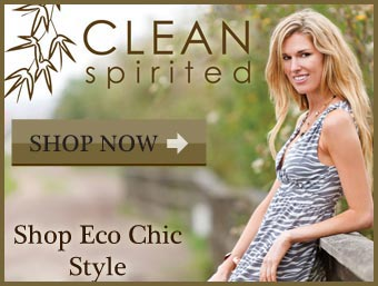 Shop Eco Chic Style at Clean Spirited