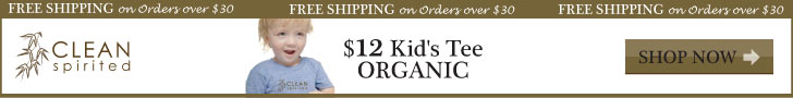 $12 Kid's Organic Tee - CleanSpirited.com
