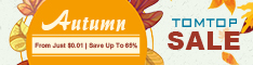 2019 Autumn From Just $0.01 | Save Up To 65% - Tomtop.com