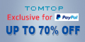 Exclusive for PAYPAL: Up tp 70% Off Summer Sale, Ends: July 30th,2016