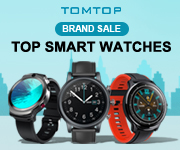Up to 60% off brand sale @tomtop.com