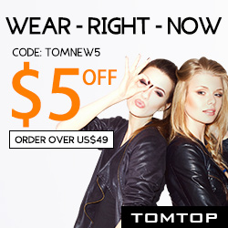 Save Extra $5 Off Order $49+ On Women's Apparel (Code: TOMNEW5), EXP:Jan.18th
