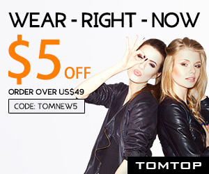 Save Extra $5 Off Order $49+ On Women's Apparel (Code: TOMNEW5)