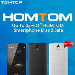 Up To 32% Off HOMTOM Smartphone Brand Sale
