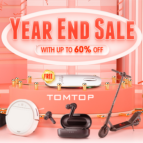 Get up to 60% OFF @tomtop.com