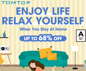 Enjoy Life At Home: Get Up To 68% OFF @Tomtop