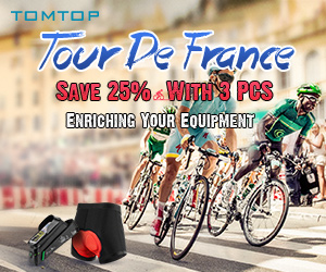 2019 Tour De France - Save 25% With 3 PCS From Tomtop