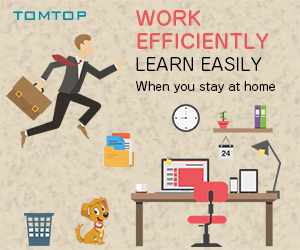 Promotions for telecommuting supplies at home - Tomtop.com