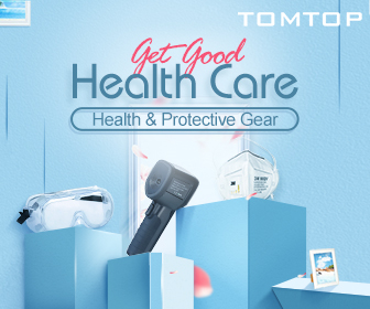 Get Good Health Care - N95 Mask & Safety Goggles - Tomtop.com