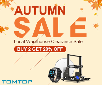 Buy 2 Get 20% OFF Clearance Sale @tomtop.com