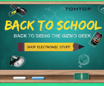 Back To School Electronics Sale, Ends: Aug 28@tomtop.com