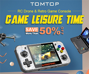 Save More Than 50% OFF RC Drone & Retro Game Console Special Sale