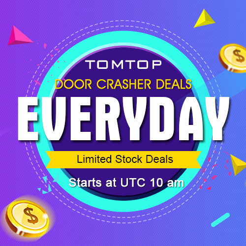 Door Crasher Deals Everyday, Limited Offers, First Come First Served