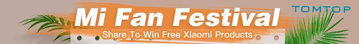 Mi Fan Festival | Share to Win Free Xiaomi Product