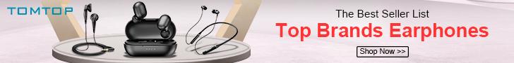 Shop The Top Best Seller Earphones 2020 @Tomtop.com
