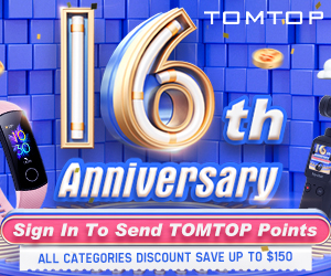 Tomtop 16th Birthday Sale In 2020 | Up To 71% Off