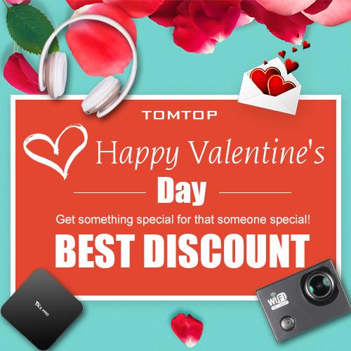 TomTop Valentine's Day Discount