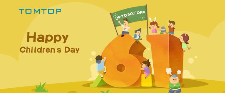 Happy Children's Day Sale @tomtop.com