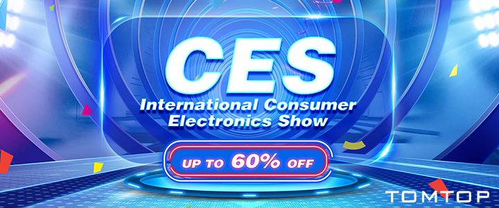 Up to 60% OFF Electronics Sale @tomtop