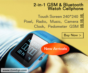 Touch Screen 240*240 Pixel?Radio?Music?Camera?Clock?Pedometer