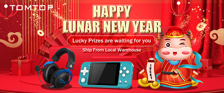 Get Lucky Prize on TOMTOP