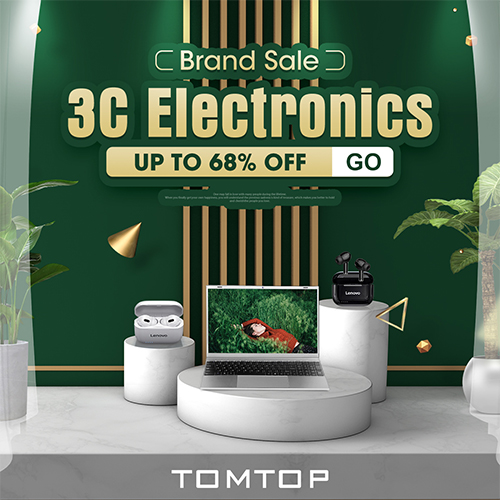 TOMTOP.com Coupons & Offers