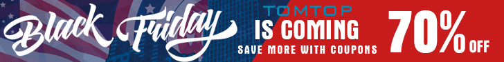 Up to 70% OFF @tomtop