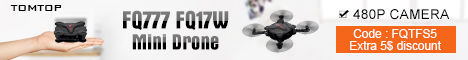 Extra $5 OFF FQ777 FQ17W Mini Drone