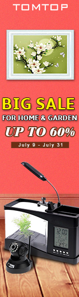 Up to 60% Off Home&Garden Big Sale, Ends: Aug 31, 2016