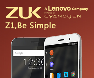 $299.99 for Lenovo ZUK ZI with Free Shipping, EXP:Oct.30th