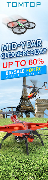 Up to 60% Off Big Sale for RC, Ends: Aug 31, 2016
