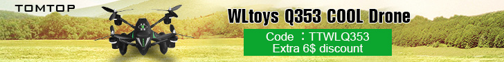 Extra $5 OFF WLtoys Q353 Cool Drone(Code: TTWLQ35)