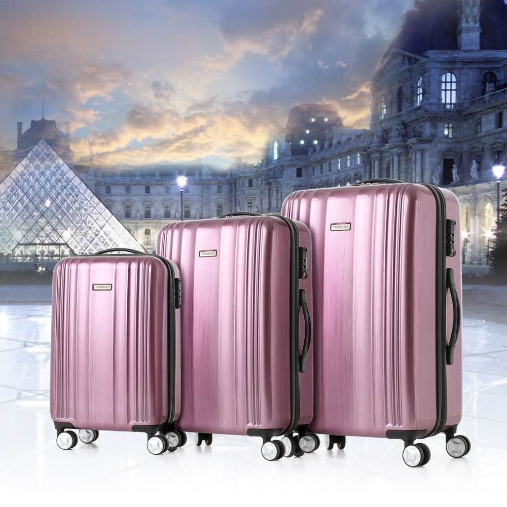 $12 discount for TOMSHOO Luxury 3PCS Luggage Set, from UK warehouse $92.16